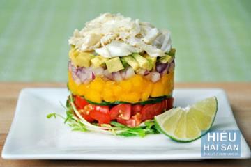 Salad thịt cua Cà Mau
