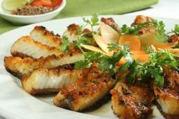 Cách làm món cá chép giòn sả xào lăn