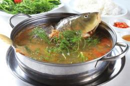Cách làm món canh cá chép giòn nấu mẻ