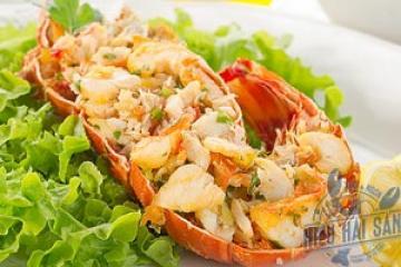 Salad tôm hùm canada kiểu Nhật