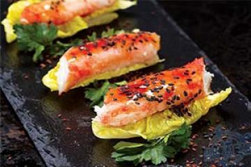 salad cua hoàng đế kiểu Nhật